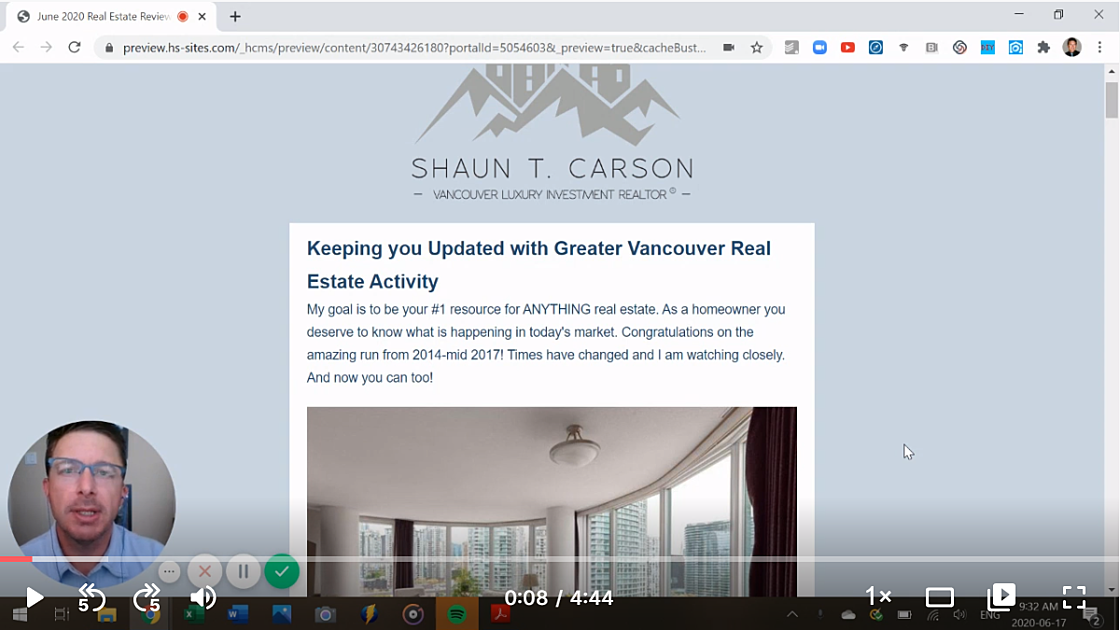 Greater Vancouver real estate review